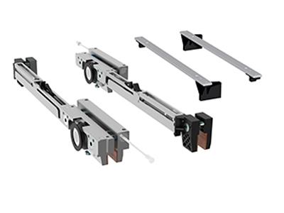 Set carucioare Compact-X70 cu amortizoare inchidere/deschidere