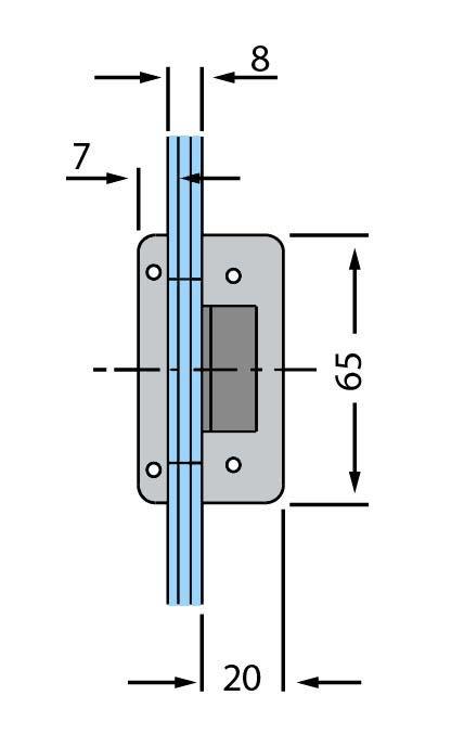 Contrabroasca Studio Rondo usa sticla 8-10 mm