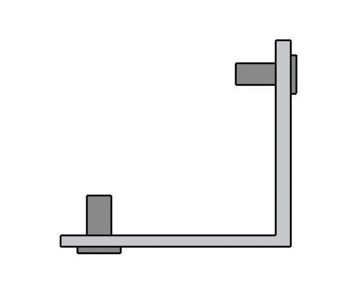 Coltar imbinare profil toc Alexa 45