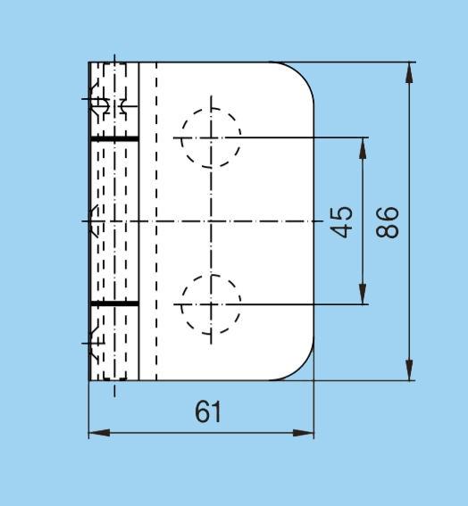 Balama incadrata Junior Office usa sticla 8-10 mm