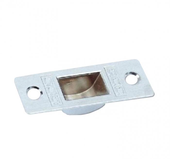 Contraplaca incuietoare de colt (pardoseala)