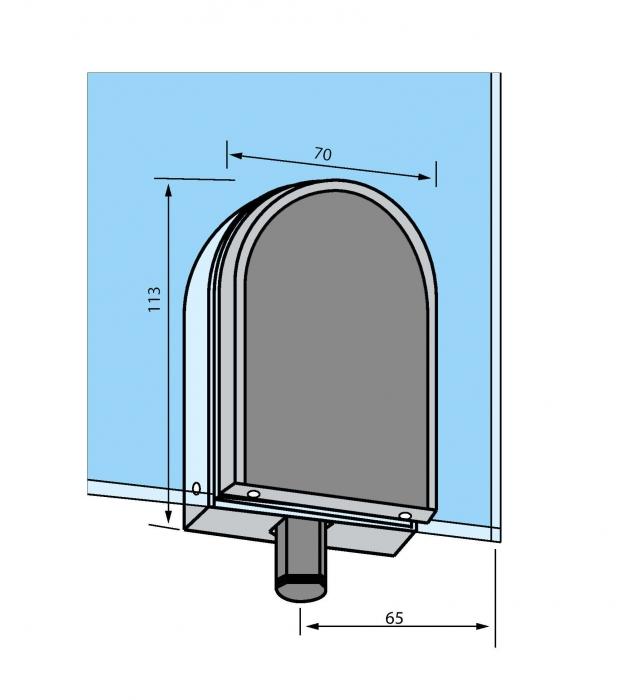 Zavor pardoseala pentru cilindru