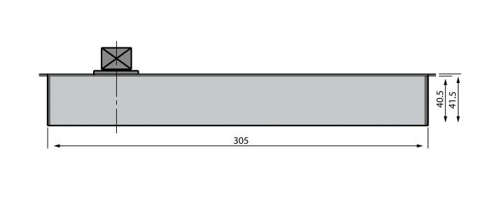 Amortizor pardoseala 100 kg EN3