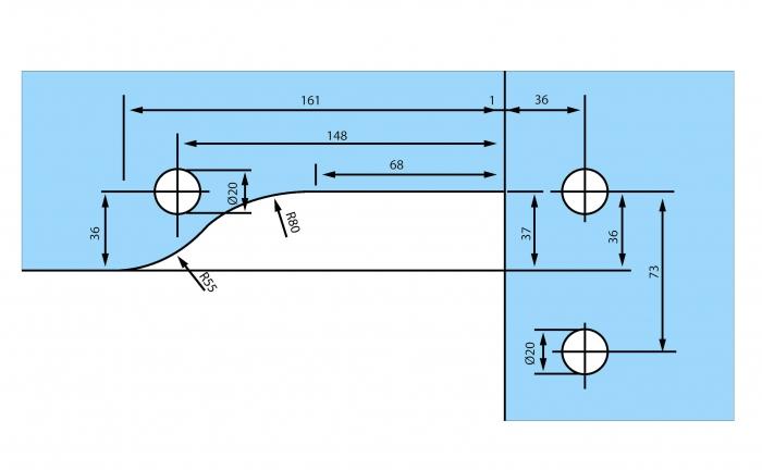 Balama coltar supralumina RD-40
