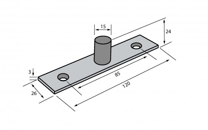 Pivot superior - Railing Design