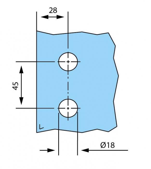 Balama incadrata usa sticla 8-10 mm