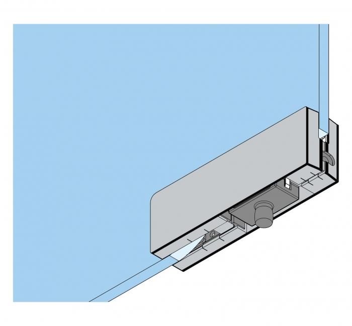 Balama dreapta supralumina PT 30 - Dorma Mundus Comfort