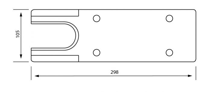 Capac acoperire amortizor TS 500 N