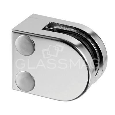 Clema sticla, 40x50mm ,G=8 mm ,zinc cromat mat