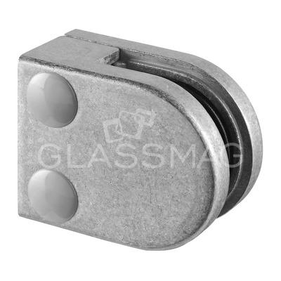 Clema sticla, 40x50mm, G=8 mm ,zinc natur