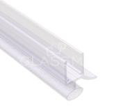 Garnitura etansare cu 2 benzi Dorma, perete-sticla, pentru sticla de 8 mm , L=2000 mm