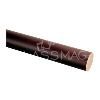 Mana curenta lemn ,Ø42 mm ,L=2500 mm,fag baituit si lacuit