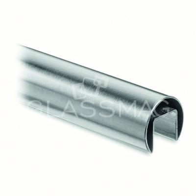 Mana curenta profilata rotunda ,Ø 48.3mm ,L=5000 mm ,inox satinat