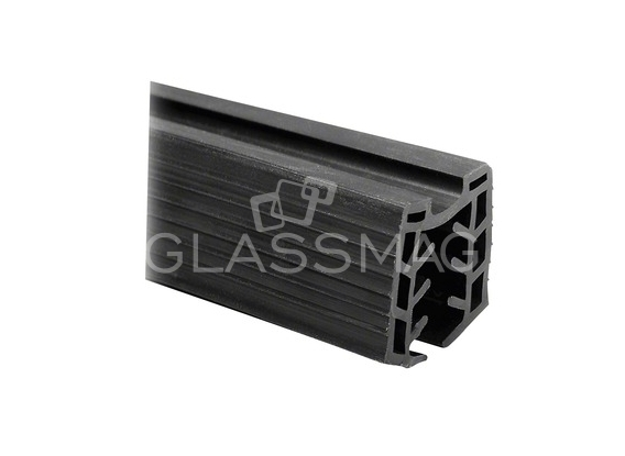 Mana curenta lemn profilata 60x40 mm, fag lacuit, L=2500 mm