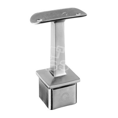 Suport mana curenta ,40x40 mm ,Ø 42.4 mm ,inox satinat