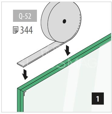 profil u g mm aluminiu efect inox satinat l 5000 mm. Black Bedroom Furniture Sets. Home Design Ideas