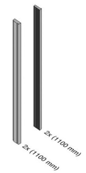 Set balcon frantuzesc Easy Glass® View 1