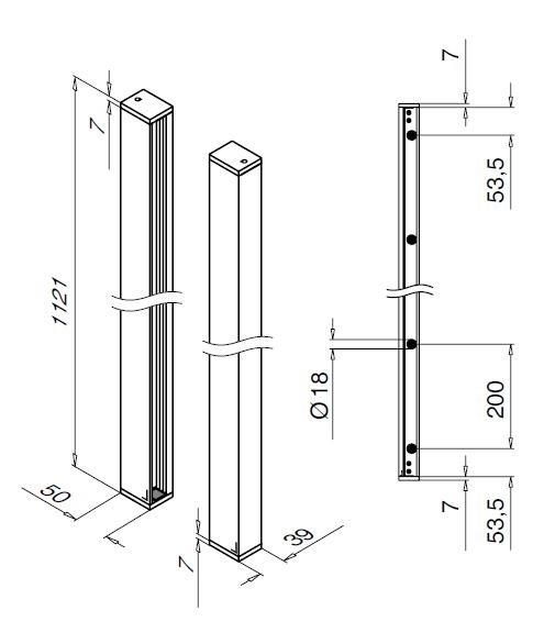 Set balcon frantuzesc Easy Glass® View 2