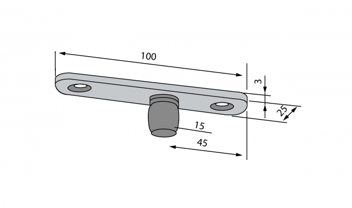 Pivot superior PT 24 - Dorma Mundus Comfort 2