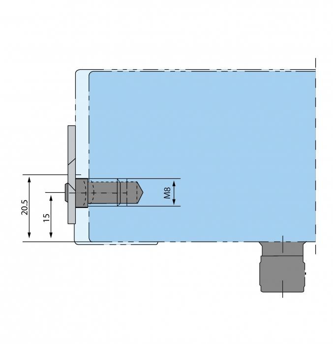 Placa fixare perete PT 30 - Dorma Mundus Comfort 1