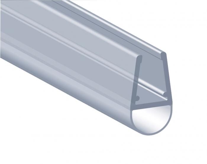 Garnitura ultraclara tip A(balon) cabina dus sticla 8 mm 0