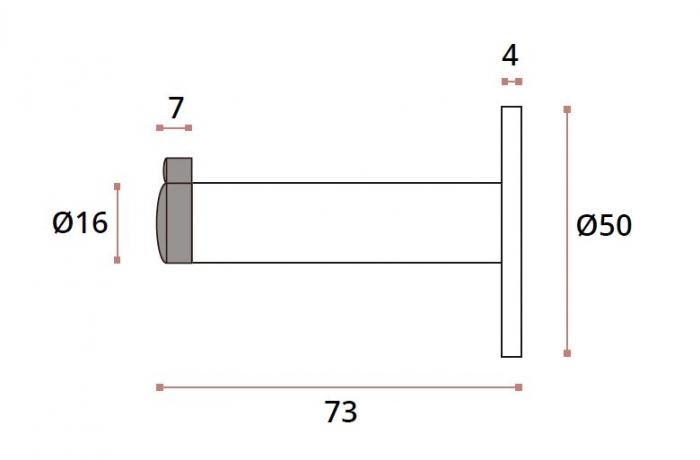 Opritor usa/cuier compartimentare toaleta 1